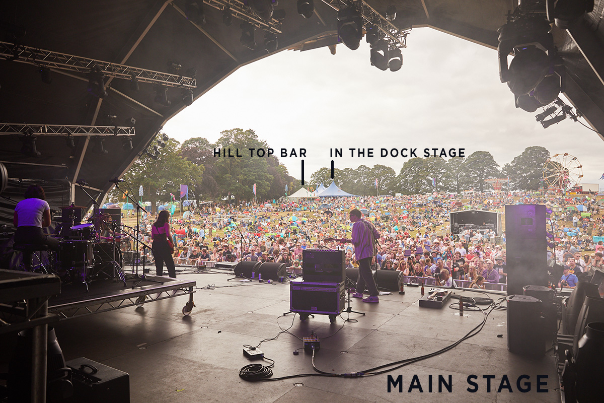 Main stage hill