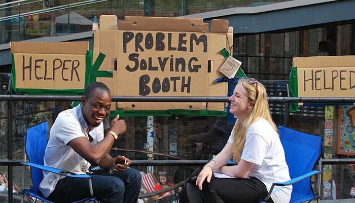 Problem Solving Booths