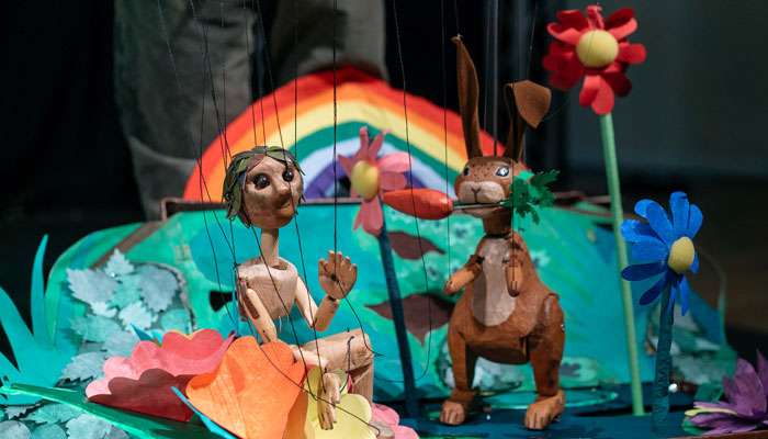 The Travelling Shadow Theatre presents Nettles in the Garden